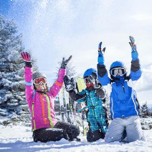 Famille ski Bonneval sur arc